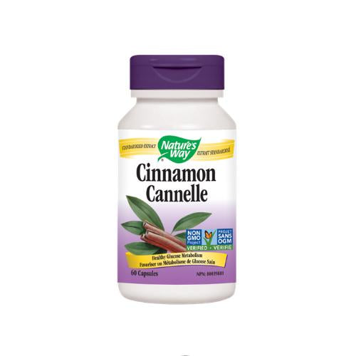Nature's Way - Cinnamon 60 Caps - Shop Santé