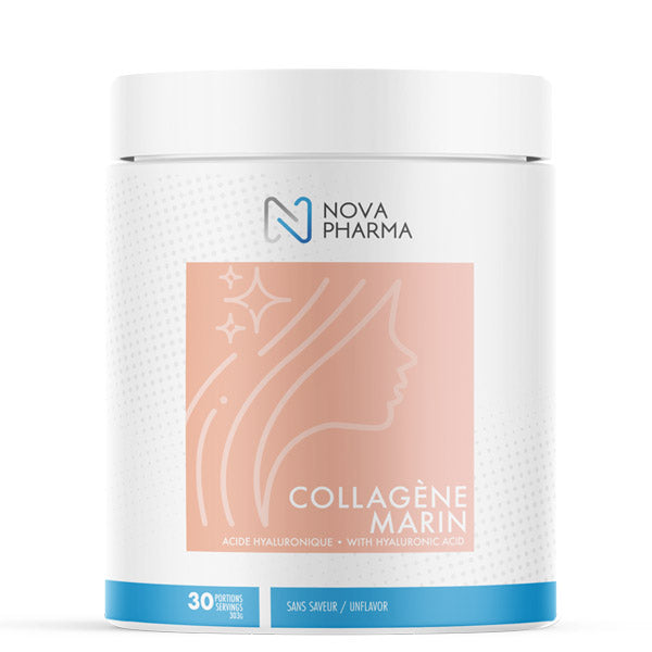 Nova Pharma - Collagène Marin + Acide Hyaluronique 390g - Shop Santé