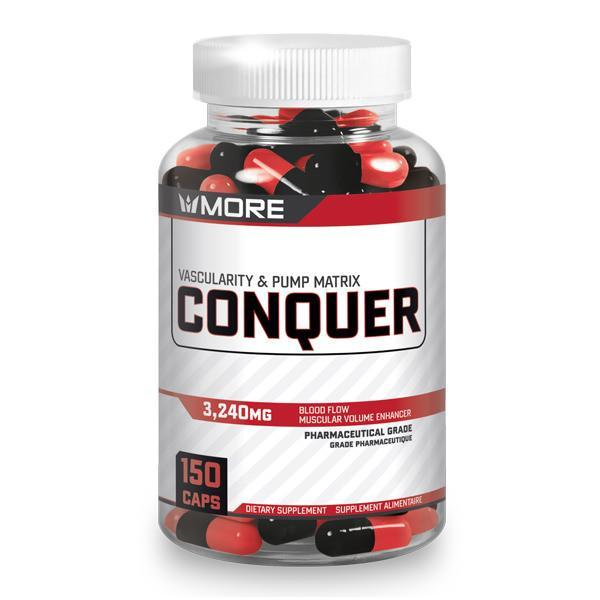More Supplements - Conquer 150 caps - Shop Santé