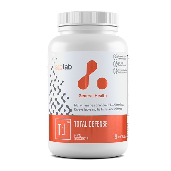 ATP Lab - Total Defense 120 capsules - Shop Santé