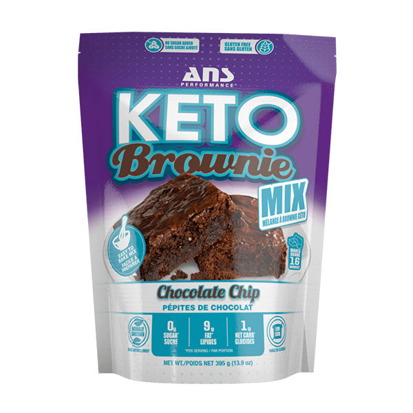 ANS Performance - Keto Brownie Mix 395g - Shop Santé