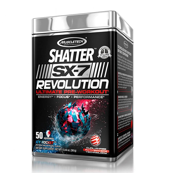 Shatter Sx-7 Revolution Pre Workout - Muscle Tech - Shop Santé