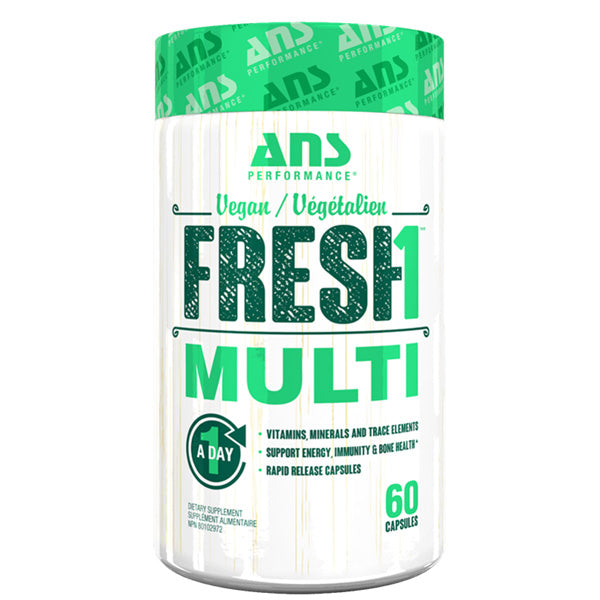 ANS Performance - Fresh1 Vegan Multi 60 caps - Shop Santé