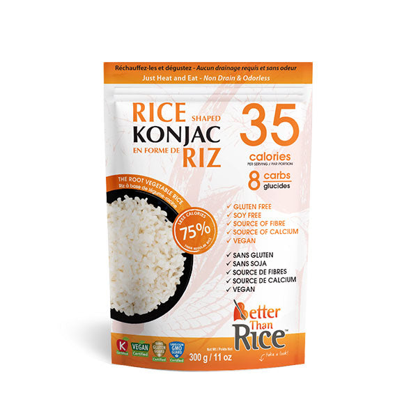Better than Foods - Konjac sans rinçage 300g - Shop Santé