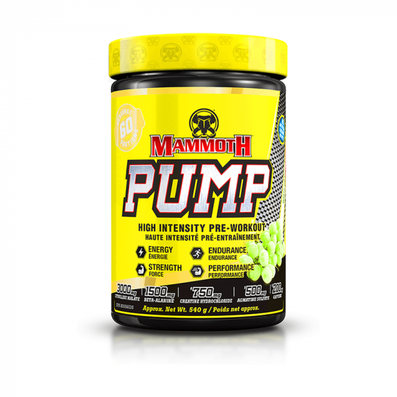 Mammoth Pump 60 Servings