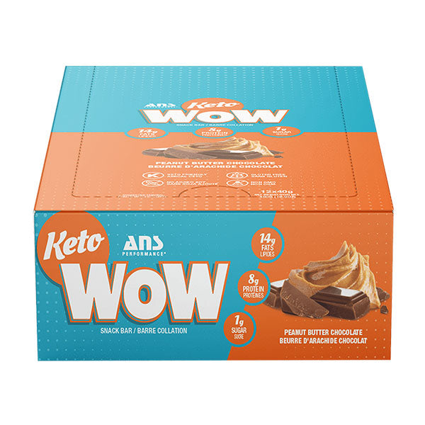 ANS Performance - Keto Wow Protein Bar 40g - Shop Santé