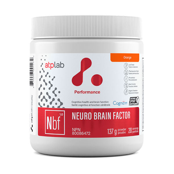 Neuro Brain Factor Orange - ATP - Shop Santé