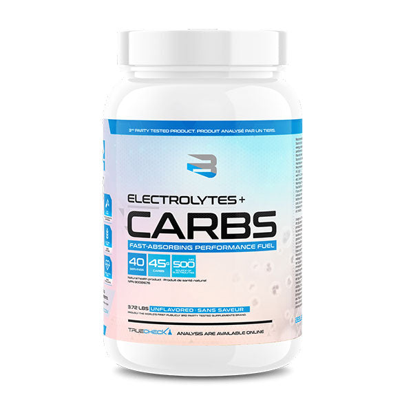 Believe Supplement - Carbs + Electrolytes 3.72 Lbs - Shop Santé