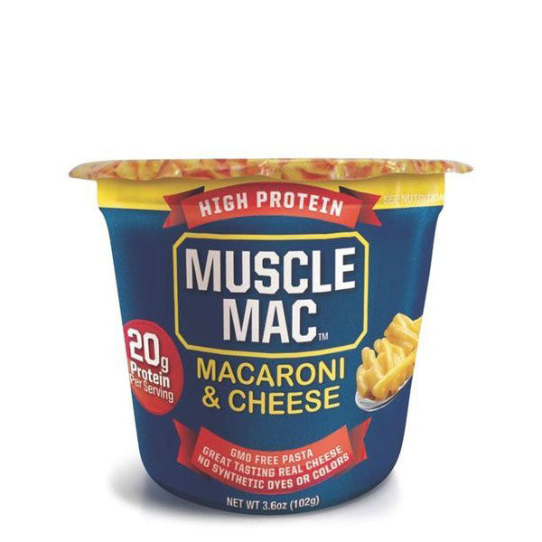 Muscle Mac - Microwave Mac & Cheese - Shop Santé