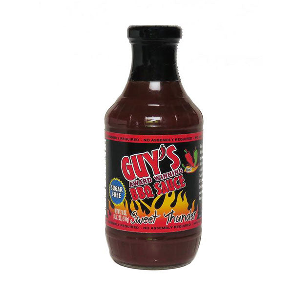 Guy's Award Winning Sugar Free - BBQ Sauce 510ml - Shop Santé