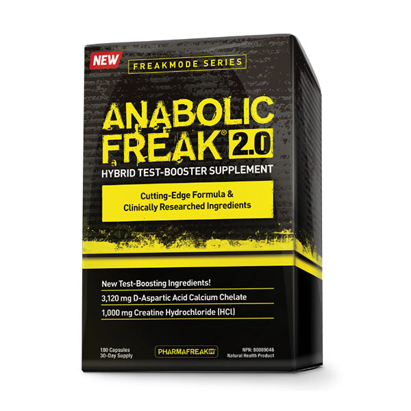 Pharmafreak - Anabolic Freak 2.0 180 capsules - Shop Santé