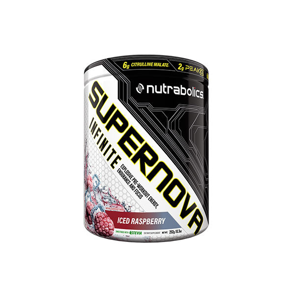 PRE-WORKOUT Supernova Infinite - Nutrabolics - Shop Santé