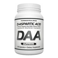 SD Pharmaceuticals - DAA D-Asparctic Acid 120 Caps - Shop Santé