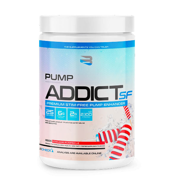 Believe - Pump Addict SF (Stim-Free) - 25 portions - Shop Santé