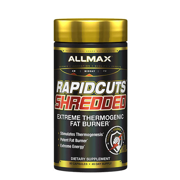 Allmax - Rapidcuts Shredded 90 Caps - Shop Santé