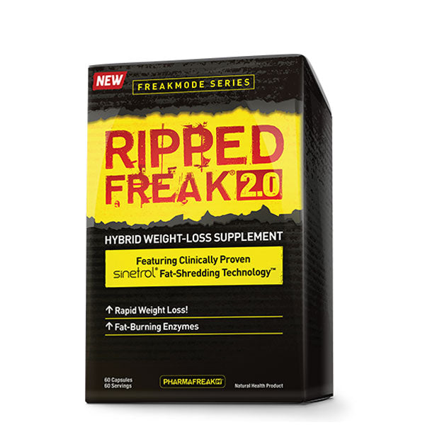 Ripped Freak 2.0 - 60 Caps - Shop Santé