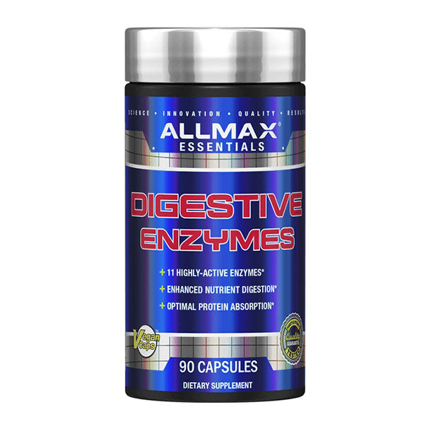 Allmax- Enzymes Digestives 90 caps - Shop Santé