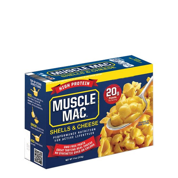Muscle Mac - Shells & Cheese 312g - Shop Santé
