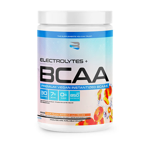 Believe Supplements - BCAA + Electrolytes 300g - Shop Santé