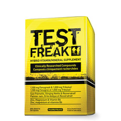 Test Freak 120 Caps - Shop Santé