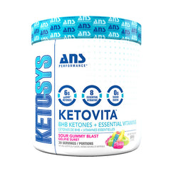 Keto Vita Sour Gummy Blast - ANS Performance - Shop Santé