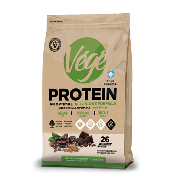 Nova Pharma - Végé Protein  All in One Formula + Greens Gratuit ! - Shop Santé