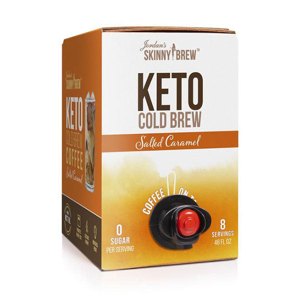 Keto Cold Brew Coffee On Tap - Salted Caramel with MCT - Jordan's Skinny Mixes - Shop Santé