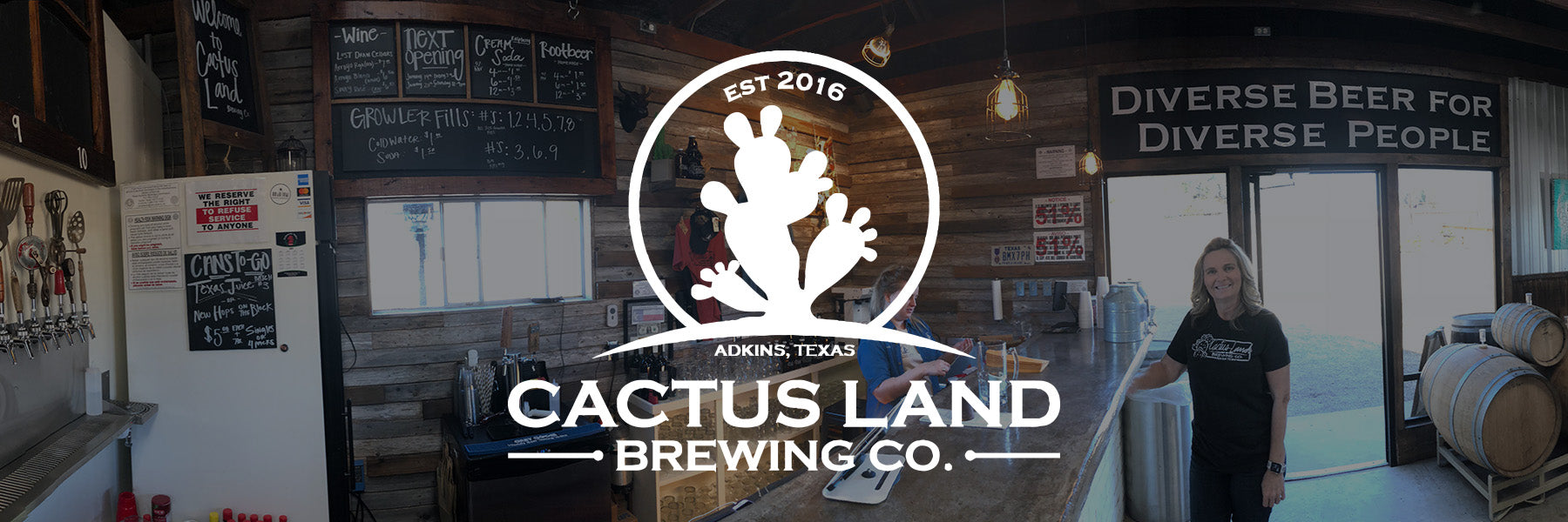Cactus Land Brewing Co. | Adkins, TX