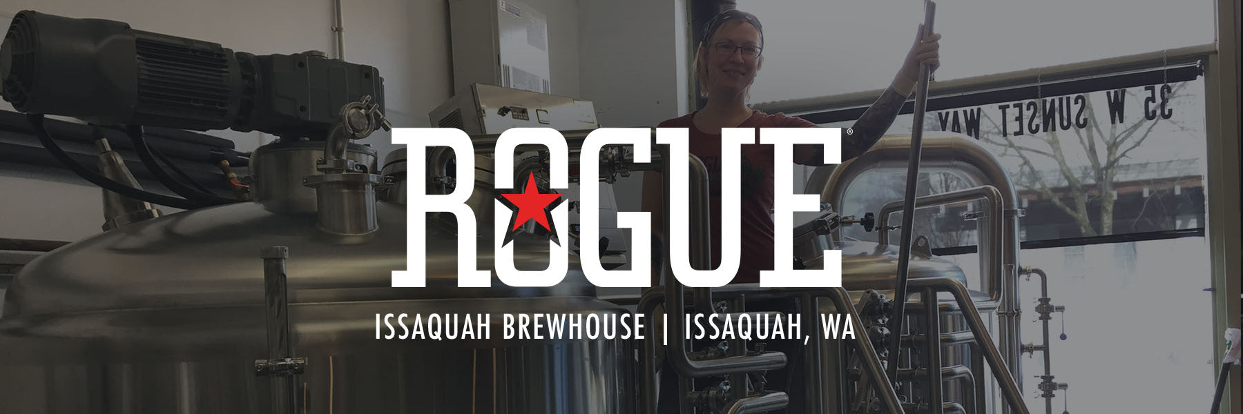 Rouge Ales | Issaquah 5bbl Brewhouse