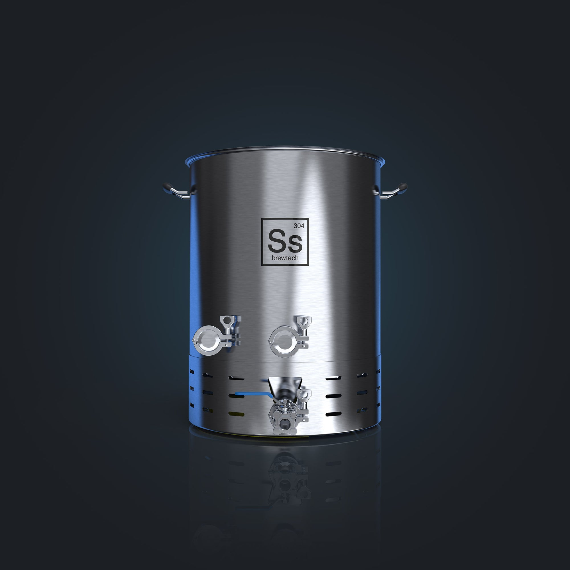 Ss Brew Kettle Brewmaster Edition | professional brewing features on home brew sized kettle