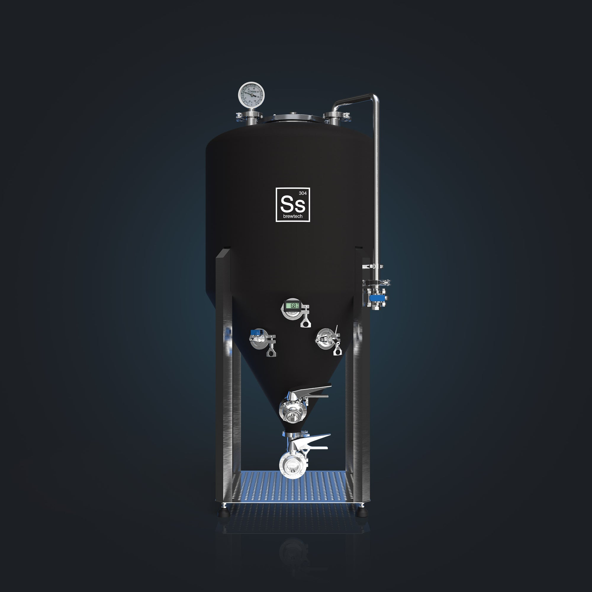 Pressurizable fermentation available to the home and nano brewer with the Ss Brewtech Unitank