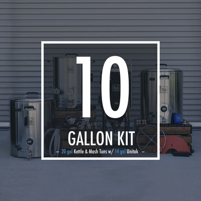 Ss All Grain Brew Kit