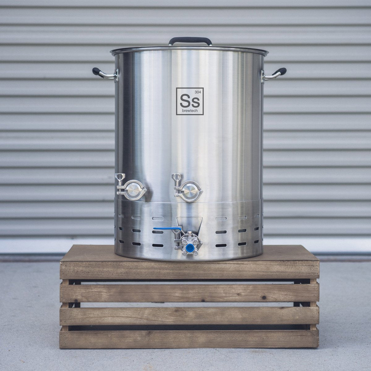 20 gal | Ss Brew Kettle Brew Master Edition