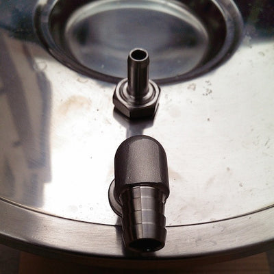 "Hose Barb 1/2"" for FTSs and Brew Bucket Lids SS Brewing Technologies"