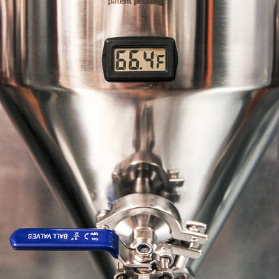 LCD temperature display thermometer for Chronical series fermenters Ss Brewing Technologies