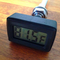 LCD thermometer for Ss Brewing Chronical Series fermenters and thermowells