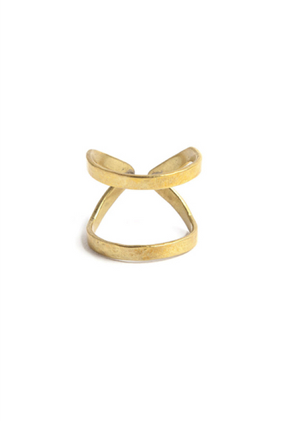 Mahali Double Open Ring