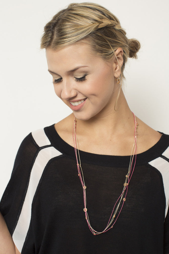 Orion Necklace - Pink
