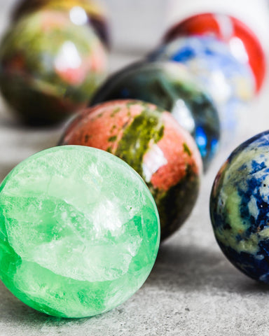 Gemstone Spheres