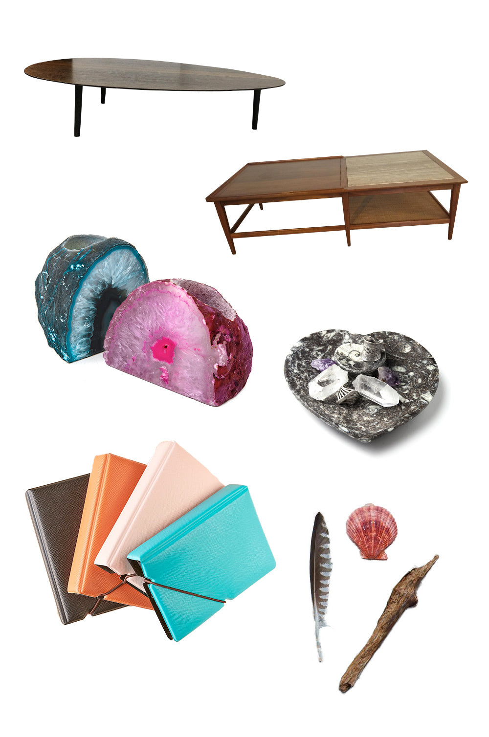 Style your coffee table inspo board