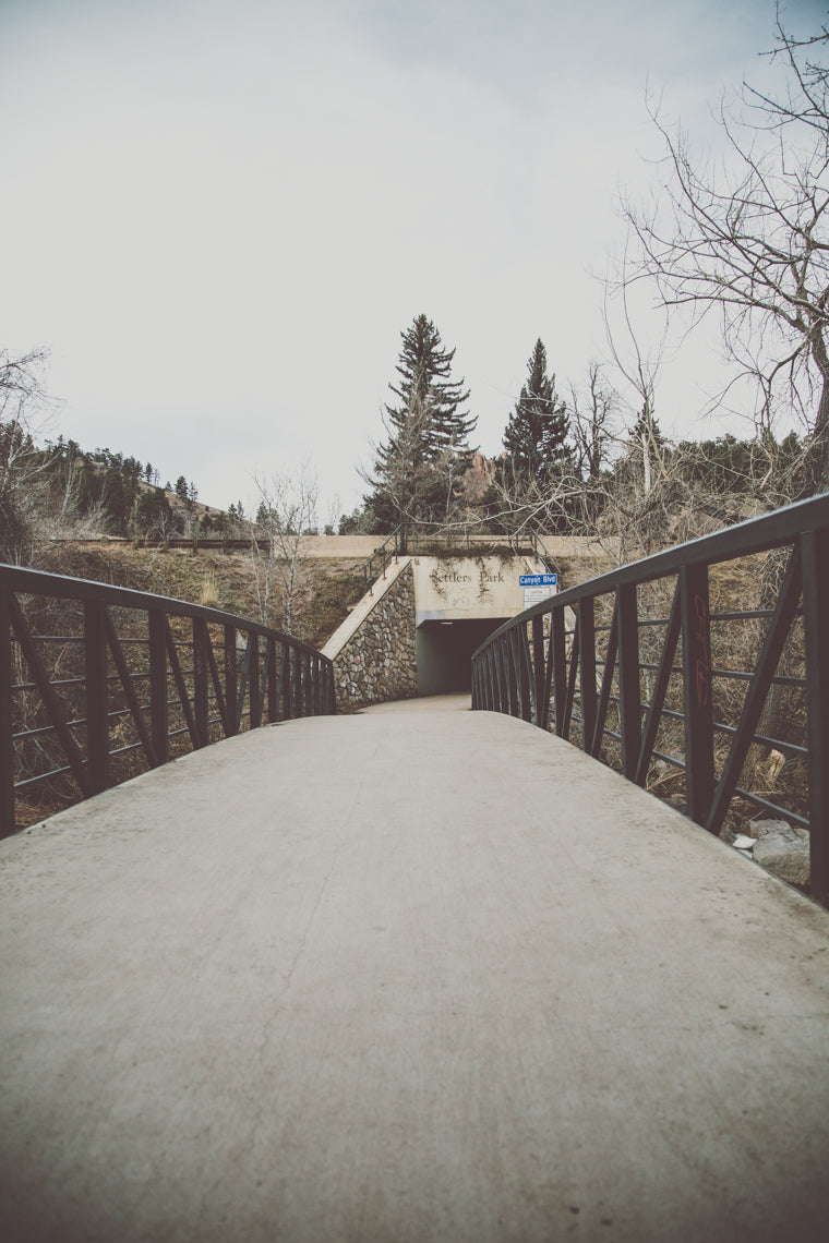 photo of Eben G Fine Boulder Creek bridge