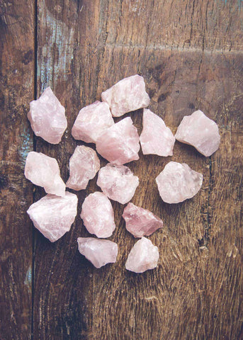 Assorted Bulk Rough Rose Quartz Crystals by SoulMakes 3