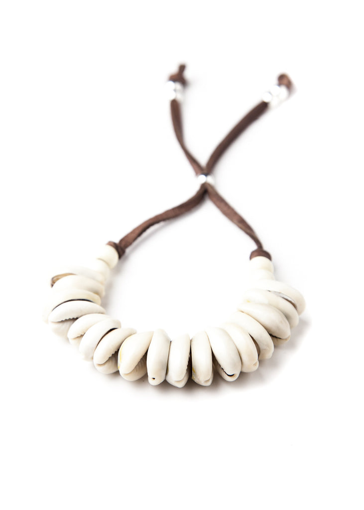 Cowrie shell beach bracelet by SoulMakes