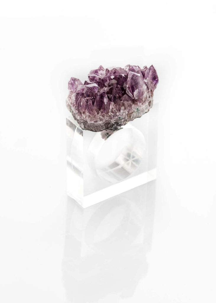 Amethyst Napkin Holder