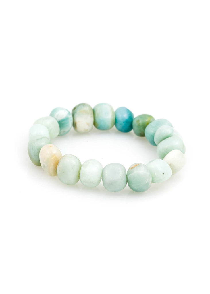 Amazonite Pebble Bracelet