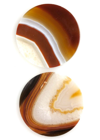 Agate Discs (Set of 5)