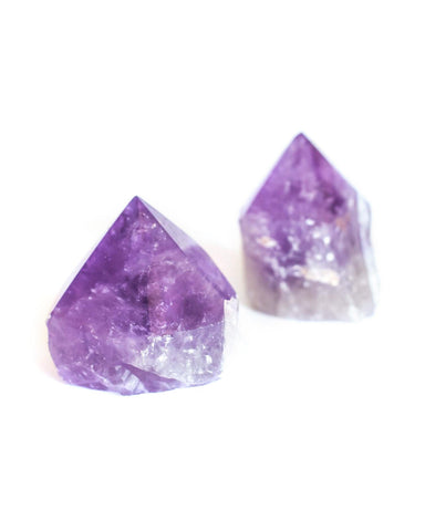 Bolivian Amethyst Top Polished Point