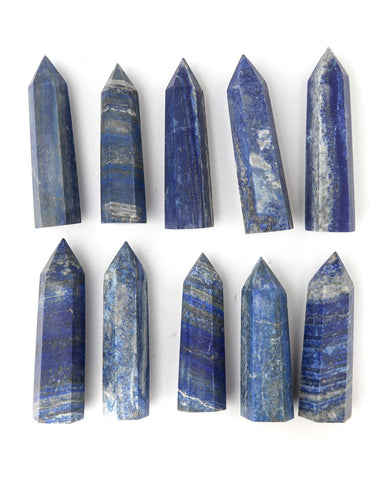Lapis Lazuli Polished Point Wand