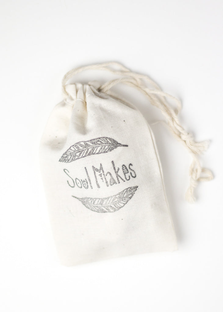 Image of SoulMakes stamped canvas bag