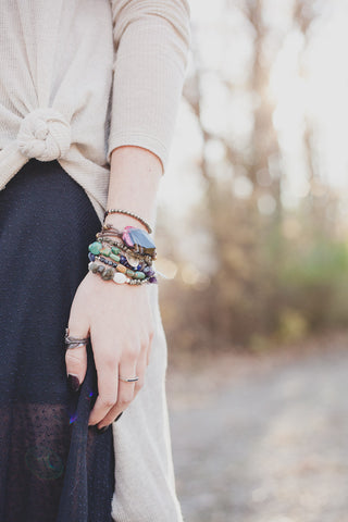 picture of bohemian girl bracelets by SoulMakes